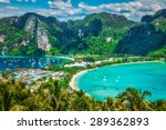 travel vacation background  ... | Shutterstock . vector #289362893
