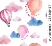 watercolor seamless pattern... | Shutterstock .eps vector #289368497