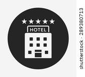 hotel icon | Shutterstock .eps vector #289380713