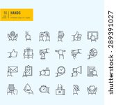 thin line icons set. icons of... | Shutterstock .eps vector #289391027