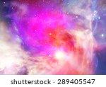 far being shone nebula and star ... | Shutterstock . vector #289405547