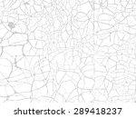 vintage cracked background.... | Shutterstock .eps vector #289418237