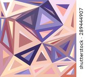 abstract geometric pattern... | Shutterstock .eps vector #289444907