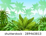 tropical jungle.   Shutterstock .eps vector #289463813
