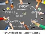 export product merchandise...   Shutterstock . vector #289492853