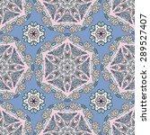seamless pattern ethnic style....   Shutterstock .eps vector #289527407