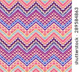 hand drawn painted seamless... | Shutterstock .eps vector #289584863