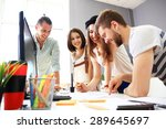 group of designers in office | Shutterstock . vector #289645697