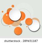 vector modern design circle...
