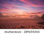 jordan  aqaba  aqaba  wadi rum   Shutterstock . vector #289654343
