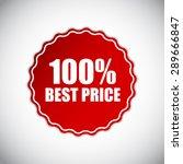 best price golden label ... | Shutterstock . vector #289666847