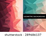 geometric patterns set.... | Shutterstock .eps vector #289686137