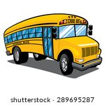 illustration of a bright yellow ...   Shutterstock .eps vector #289695287
