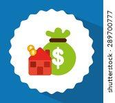 money concept design  vector... | Shutterstock .eps vector #289700777