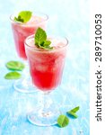 watermelon smoothies   Shutterstock . vector #289710053