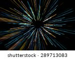 abstract  colorful speed motion ... | Shutterstock . vector #289713083
