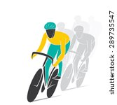 cycling race design vector | Shutterstock .eps vector #289735547
