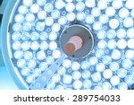 surgical lamps in operation... | Shutterstock . vector #289754033
