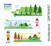 parks and outdoor... | Shutterstock .eps vector #289783697