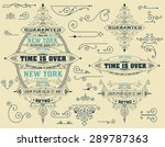 set of banners and design... | Shutterstock .eps vector #289787363