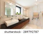 architecture  modern house ... | Shutterstock . vector #289792787