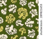hand drawn seamless pattern... | Shutterstock .eps vector #289821653