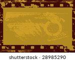 grunge vector film strip | Shutterstock .eps vector #28985290