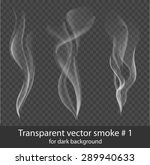 Vector Set Of Transparent Whit...