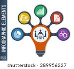 business  finance. idea concept ... | Shutterstock .eps vector #289956227