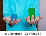 wooden toy blocks infographic...   Shutterstock . vector #289956767