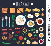 Breakfast Concept With Fresh...