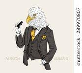 fashion animal illustration ...   Shutterstock .eps vector #289970807