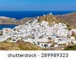 chora town  ios island ... | Shutterstock . vector #289989323