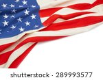 us flag with place for your... | Shutterstock . vector #289993577