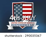 america independence vector | Shutterstock .eps vector #290035367