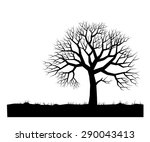 Silhouette Of Landscape With...
