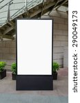 one big vertical   portrait... | Shutterstock . vector #290049173