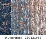 Old Diagonal Colorful Mosaic...