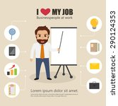 business people character... | Shutterstock .eps vector #290124353