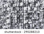 top view on buildings in... | Shutterstock . vector #290288213