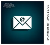 email   vector icon | Shutterstock .eps vector #290311733