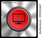 ladybird. icon. vector design | Shutterstock .eps vector #290341667