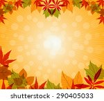 happy thanksgiving vector  | Shutterstock .eps vector #290405033