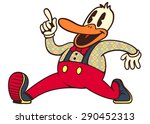 vintage toons  retro cartoon... | Shutterstock .eps vector #290452313