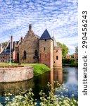 Radboud Castle At Medemblik In...