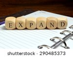 expand word concept | Shutterstock . vector #290485373