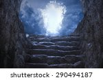 gates to heaven | Shutterstock . vector #290494187
