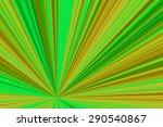 green  starburst gradient... | Shutterstock . vector #290540867