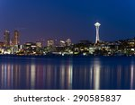 Seattle Skylines With Light...