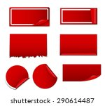 sale sticker  banner template... | Shutterstock . vector #290614487